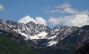 Gore Range from Vail Colorado