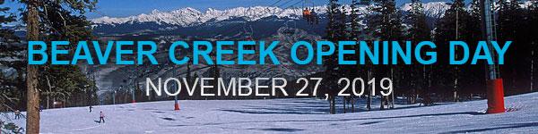 Beaver Creek Opening Day Banner