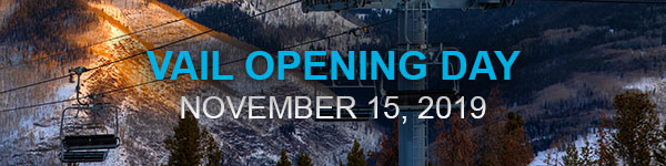 Vail Resort Opening Day Banner