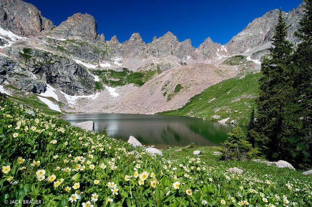 gore range overlook in colorado in summer