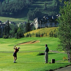 Golfers in Vail CO