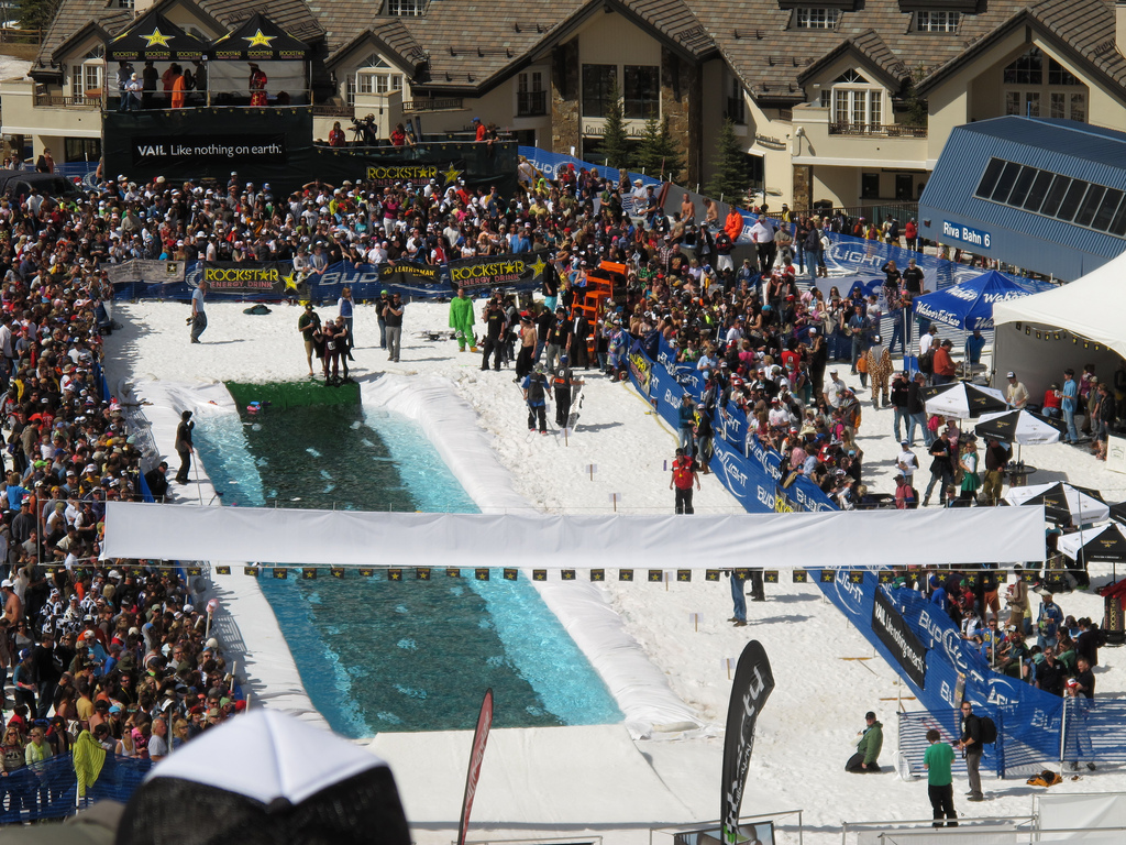 Spring back to Vail pond skimming championships