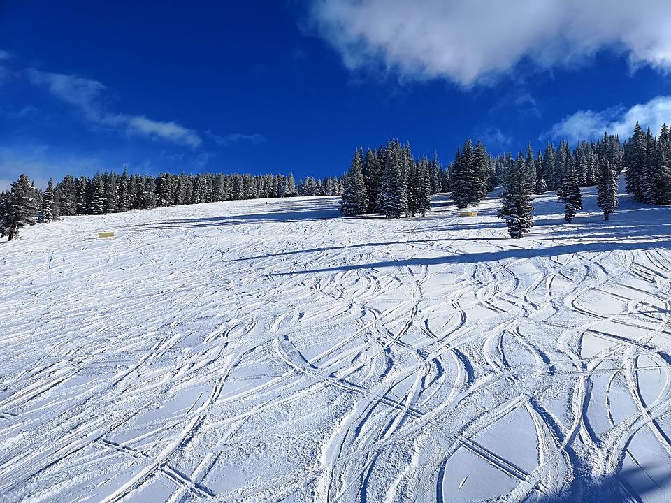 Vail Ski Resort Powder Day